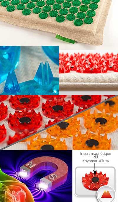 exemples tapis de fleurs acupression