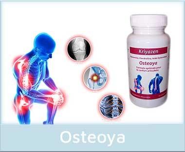 Osteoya, formule contre les douleurs articulaires